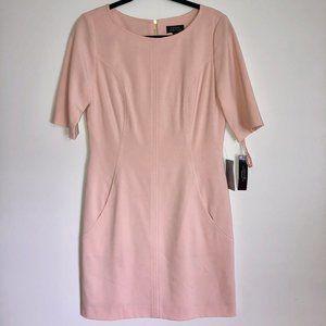 NEW Tahari Seamed A-Line Dres